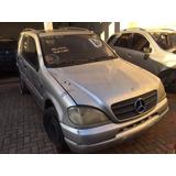 Peças Para Mercedes Ml 320 3.2 V6 2001 - 1998 A 2001 Sucata