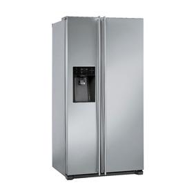 Refrigerador Ss661x7 Free Standing Smeg