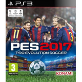 Pro Evolution Soccer 2017 (pes17) - Ps3 -wsgamesmx