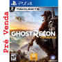 Tom Clancy Ghost Recon Wildlands Ps4 + Missão Bonus