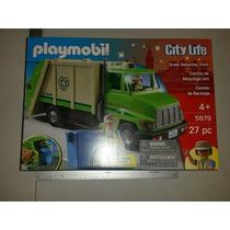 Playmobil Camión De Reciclaje 5679 Para Niños De 4 +