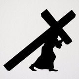 Adesivo Jesus Cristo Cruz Via Sacra
