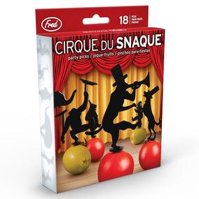 Palillos Para Botanas Cirque Du Snaqu Circo Fred & Friends