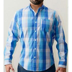 Camisa Longfield Dorset Cuadros Azules