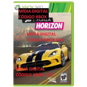 Forza Horizon Xbox 360 One Em Português Código Mídia Digital