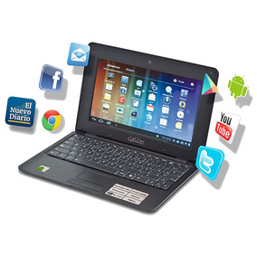 Netbook Android 4.1 Ultraligera Pantalla 10.1 Wifi Webcam