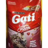 Gati Sabores Caseros De 15kg Para Gato Adulto.envio Gratis