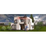 Casa Prefabricada Moderna 126 M2