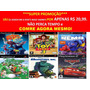Cars Carros Playstation 2 Mcqueen (kit 6 Jogos Ps2 Infantil