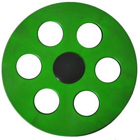 Mini Carretilha De Plástico 15 Cm Para Pipa - Verde