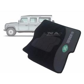 Land Rover Defender 110 - Tapete Automotivo Carpete Preto