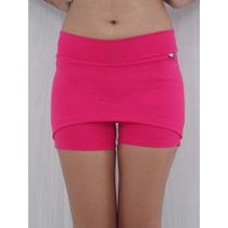 Short Saia Tapa Bumbum Rosa Pink - Novidade Imperdivel