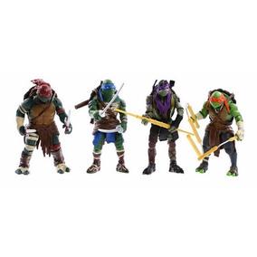 Tartarugas Ninjas (kit 04 Bonecos Articulados)