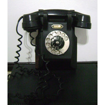 Antiguo Telefono Ericsson Sueco De Pared Original 1931