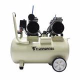 Compressor Ar 2hp Isento Óleo Silencioso 220v 50l Odonto