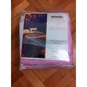 Cubrecama Arredo. Cover Repujado Artesanal. Nuevo!