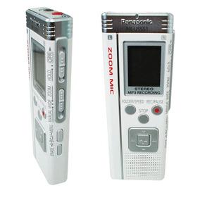 Mini Gravador De Voz Panasonic Rr-us551 Zoom Mic 266 Hrs