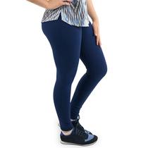 Calça Feminina Suplex Montaria Cós Alto 4 Bolsos Plus Size.