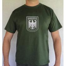Camiseta Militar , Bundeswehr, Exercito Alemão, Alemanha