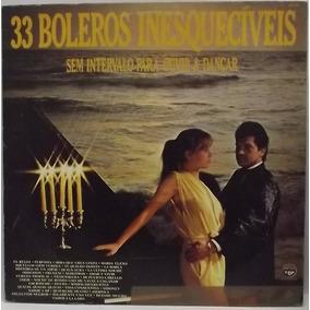 Lp / Vinil Romântico: 33 Boleros Inesquecíveis - 1985