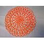 Carpeta Crochet 26cm De Diámtero Color A Elección