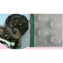 Molde Chocolate Rellenar Con Galletitas Oreo Animales Selva