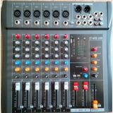 Mezcladora Usb Dj Profesional Ct 60s Amplificador De 6 Canal