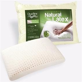 Travesseiro Duoflex Natural Latex Ln1200 45x65x13 Cm