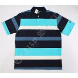 Camisa Pólo Xxl 55 Rap Hip Hop Azul Listrada 3 Crazzy Store