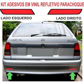 Refletivo Parachoque Adesivo Chevrolet Kadett