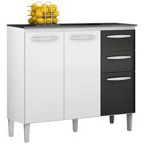 Balcão Para Cozinha Com Tampo 90cm - Poquema Isadora