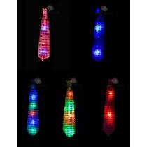 Corbatas Luminosas L E D! Pack X10 - Cotillon Fiesta Calidad