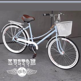 Bicicleta Feminina Retro Vintage - Caloi Ceci Brisa Monark
