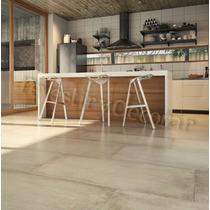 Porcelanato Cemento Beige 53x106 1°calidad Rectificado