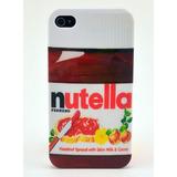 Case Capa Nutella Chocolate Para Iphone 5 5g 5s Frete Grátis