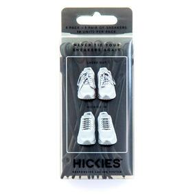 Agujetas Elásticas Hickies Negras - Pack De 14 Unidades
