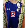 Playera Sin Mangas Under Armour De Cruz Azul 100% Original