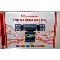 Camara Doble Dvr Pioneer Vision Nocturna Para Carro