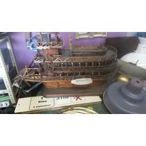 Antiguo Barco Misisipi Hecho A Escala