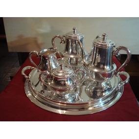 Jogo De Chá E Café -prata 90