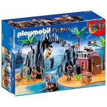 Playmobil Isla Del Tesoro Pirata 6679