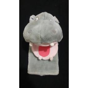 Fantoche Hipopótamo De Pelúcia A&a Plush Importado