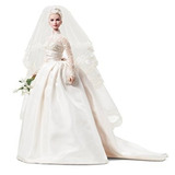 Juguete Barbie La Princesa Grace Kelly Novia De Mattel En S