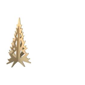Arbol De Navidad En Madera Mdf