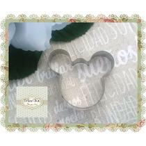 Cortante Mickey Minnie Chico Tortas Galletitas Porcelana