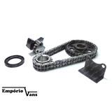Kit Corrente Inferior Motor Topic Jinbei 2.0 16v Original