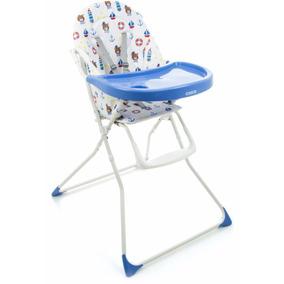 Cadeira De Refeição Banquet Cosco Azul Marinheiro