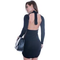 Vestido Frente Única Com Laço - Kam Bess - Ve1393