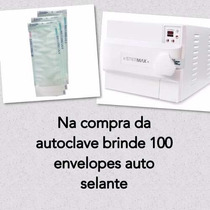Autoclave Odontologica Digital Extra 40l Inox Stermax+brinde
