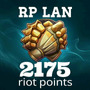 Riot Points 2175 Rp Lan League Of Leyends Lol 100% Legales